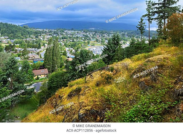 Townsite of Gibsons on the Stait of Georgia, , British Columbia, Canada