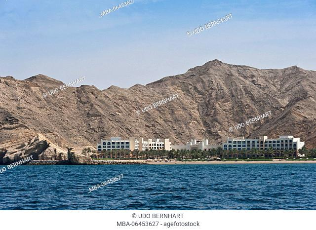 Arabia, Arabian peninsula, Sultanate of Oman, Muscat, Shangri-La's Barr Al Jissah Resort and spa