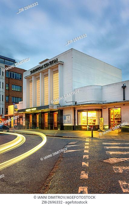 Surbiton Railway Station,Surbiton,Surrey,England