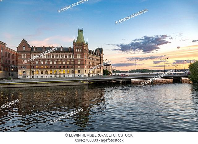 Stockholm, Sweden - Gamla Stan, otherwise called the Old City is one of the largest and best preserved medieval city centers in Europe and one of Stockholm's...