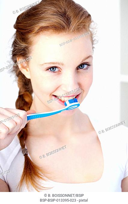 DENTAL HYGIENE, WOMAN