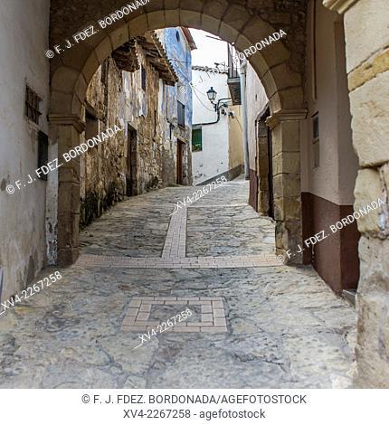 Fuentespalda village, Matarranya, Teruel, Aragón, Spain