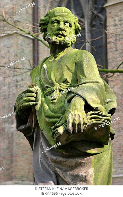Sint Salvatorskathedraal, St. Salvator cathedral, Bruges, Belgium, Europe
