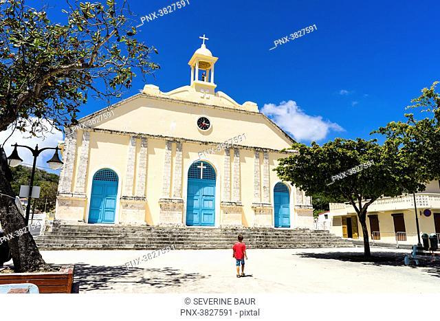 Saint-Anne's church Capesterre, Marie-Galante, Guadeloupe, France