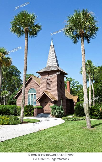 Faith Chapel non-denominational chapel at Jekyll Island, Georgia