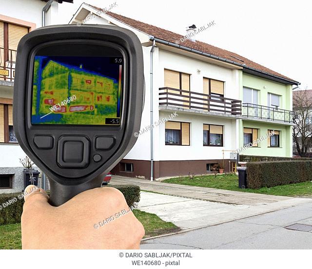 House Basement Thermal Imaging Analysis