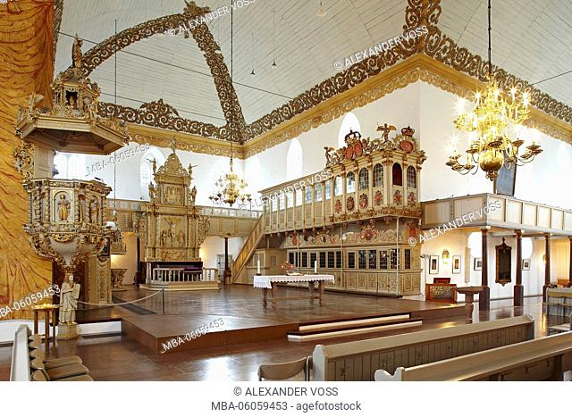 Germany, Schleswig- Holstein, Rendsburg, Christ Church / Christkirche