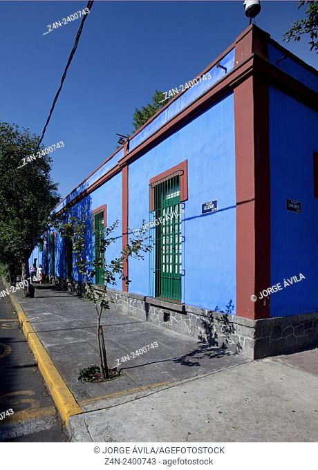 Casa Frida Kahlo. Mexico City