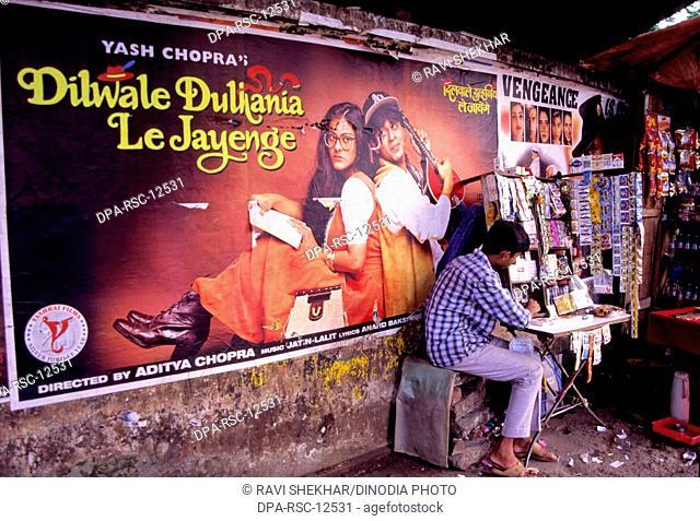Film Posters , Bombay , India