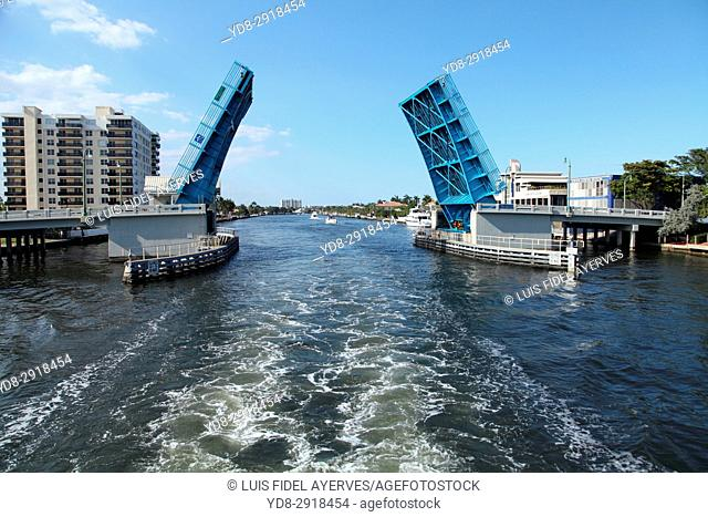 Bridge in Miami, Florida USA