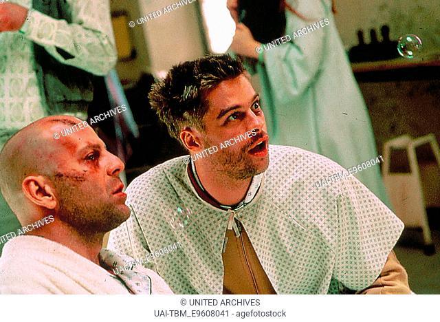 12 Monkeys / Bruce Willis / Brad Pitt