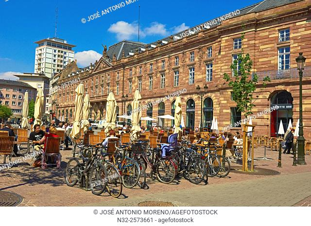 Strasbourg, Kleber square, UNESCO world heritage site, Place Kleber, Alsace, Bas Rhin, France, Europe