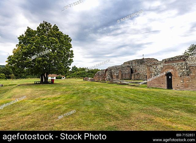 Unesco world heritage site ancient roman ruins of Gamzigrad, Serbia, Europe