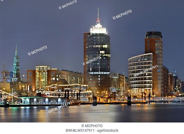 Kehrwiederspitze and Hanseatic Trade Center, Germany, Hamburg