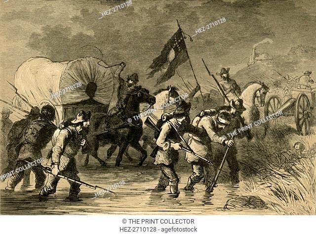 'Lee's Retreat after the Battle of Gettysburg', (1878). Creator: Albert Bobbett