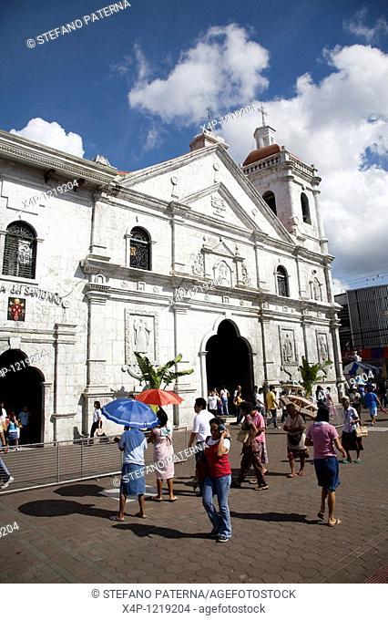 Basilica del Santo Nino in Cebu-City, Philippines