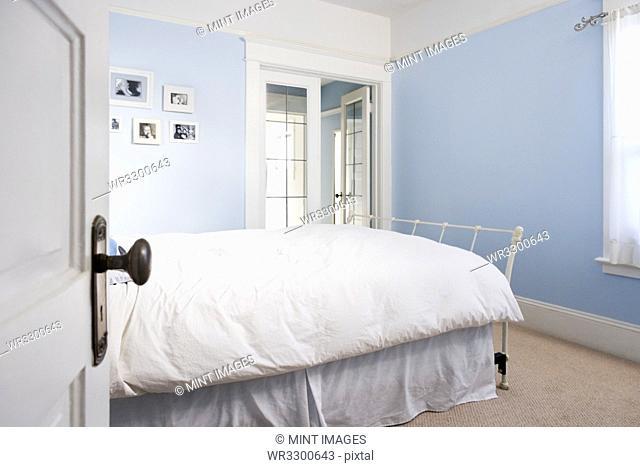 Open door to bedroom