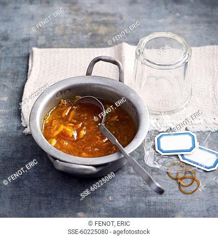 Sweet orange marmelade