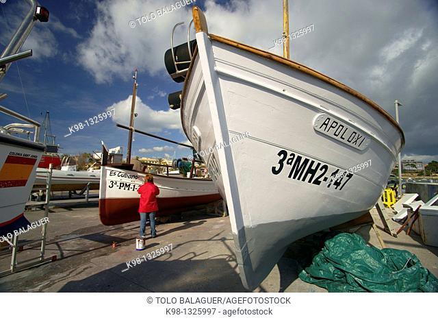 Colonia de Sant Jordi Ses Salines Mallorca Balearic Islands Spain Migjorn