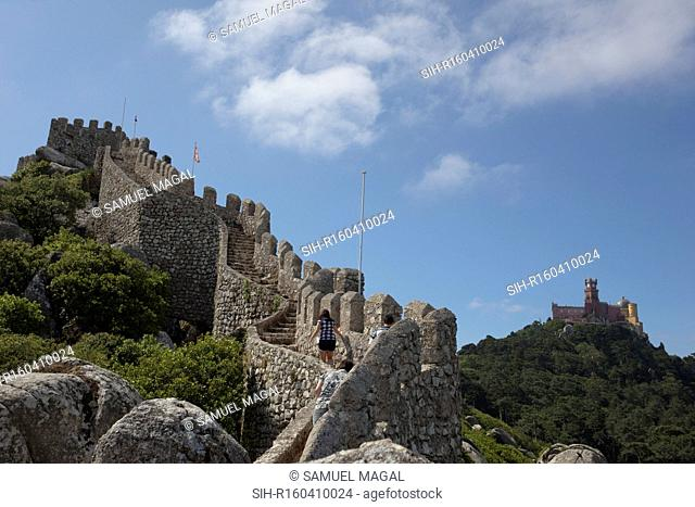This structure, considered to be one of the oldest castles in Portugal, dates back to the times of the Moor occupation from the 7th-century AD
