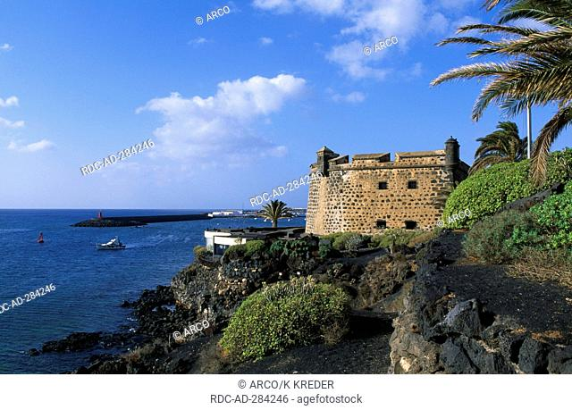 Castelo de San Jose in Arrecife, Lanzarote, Canary Islands, Spain