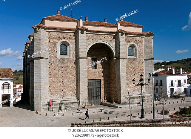 Church of the Assumption, Aracena, Huelva province, Region of Andalusia, Spain, Europe