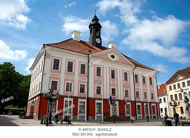 Town hall, Tartu, Estonia, Baltic states, Europe