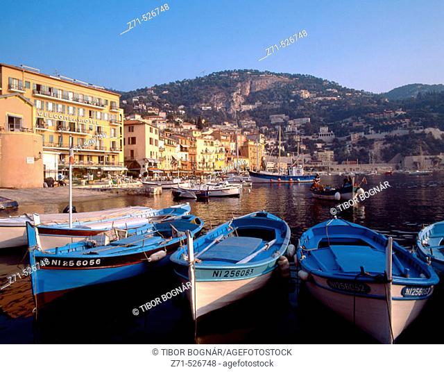 France, Côte d'Azur, Villefranche, harbour