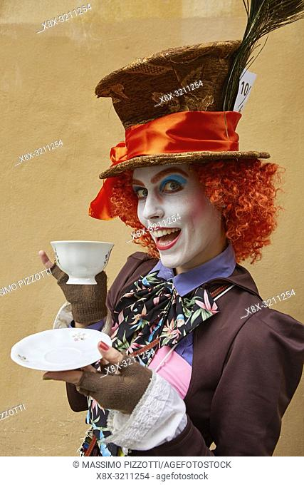 Cosplay of the Mad Hatter at Lucca Comics 2018