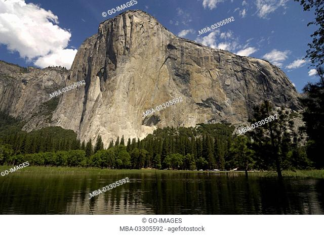 El Capitan, Yosemite national park, the USA