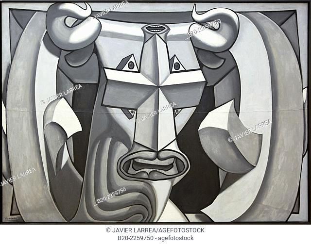 Tte de taureau, 1939. Luis Fern‡ndez. Centre George Pompidou. Musee National d'Art Moderne. Paris. France