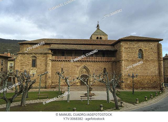 Iglesia parroquial Santa María de Ezcaray, La Rioja, Spain