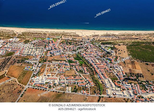 Manta Rota beach. Manta Rota. Ria Formosa, natural park. Faro district. Algarve. Portugal