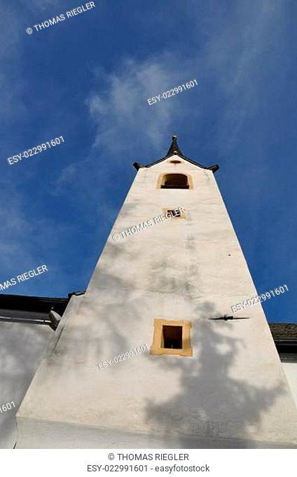 Kirchturm Helenenkirche Lienz Osttirol