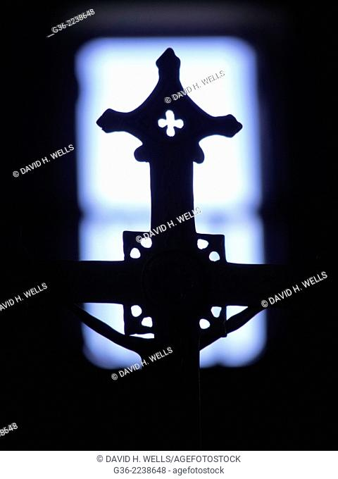 Cross at Church, Espírito Santo, Brazil