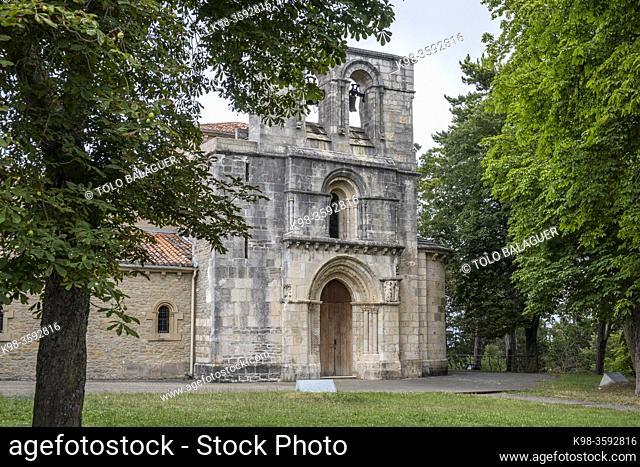 Sanctuary of Our Lady of Estíbaliz, Alava, basque country, spain