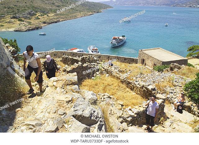 Spinalonga Island, Crete, Greek Islands