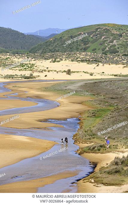 Bordeira beach. Carrapateira, Algarve. Portugal