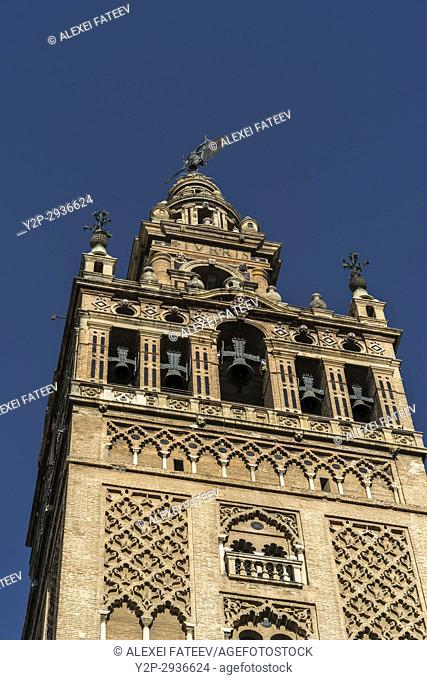 Giralda (bell tower), Cathedral of Seville, Spain