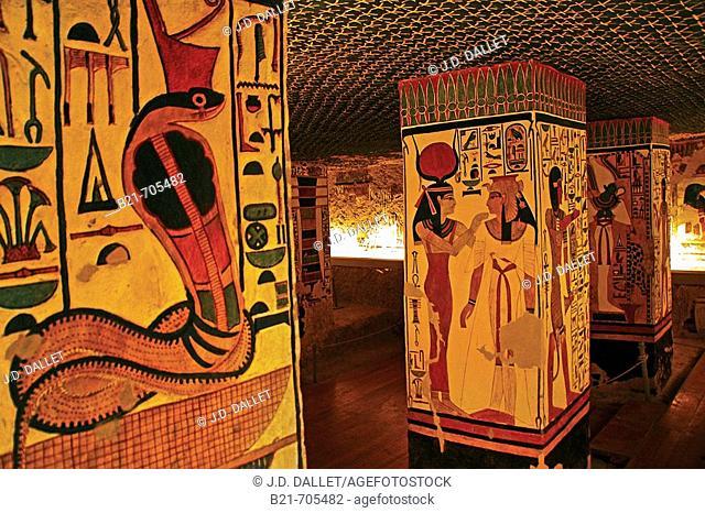 Queens Valley: Nefertari tomb, Luxor west bank. Egypt