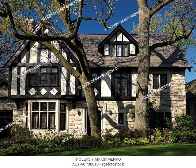 Beautiful large family house. Toronto Ontario Canada