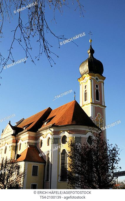 The parish church in Pless / Bavaria
