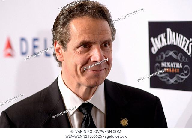 Friars Foundation Gala Honoring Robert De Niro And Carlos Slim - Red Carpet Arrivals Featuring: Andrew Cuomo Where: Manhattan, New York