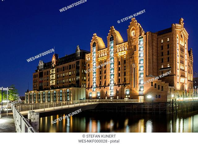 Germany, Hamburg, View of Maritimes Museum