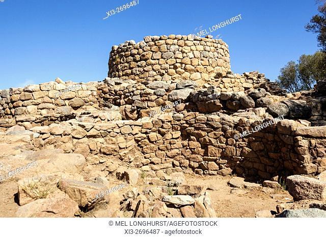Nuraghe La Prisgiona Archaeological Site, Arzachena, Sardinia, Italy