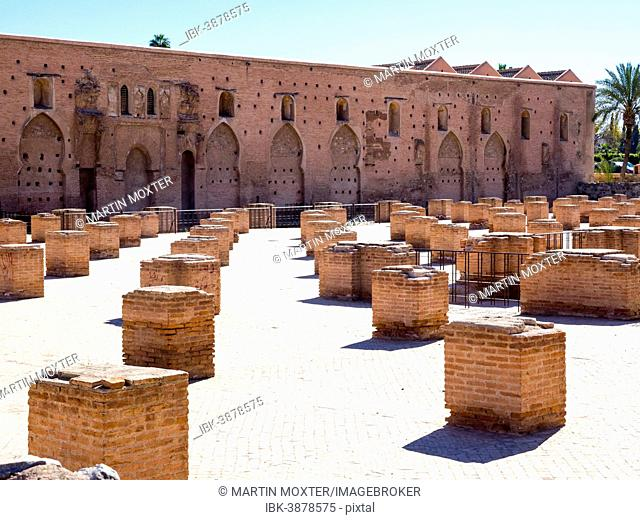 Forecourt of the Koutoubia Mosque, 1158, Medina, Marrakech, Marrakech-Tensift-Al Haouz, Morocco
