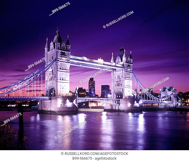 Tower Bridge, London, England, U.K