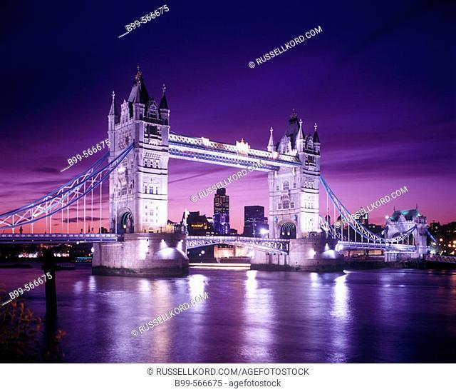 Tower Bridge, London, England, U.K