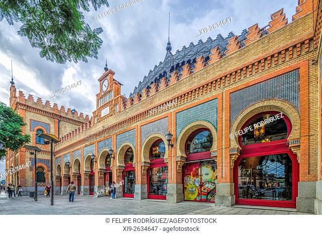 Former Estacion de Cordoba (Cordoba Railroad Station), nowadays a shopping centre, Seville, Spain