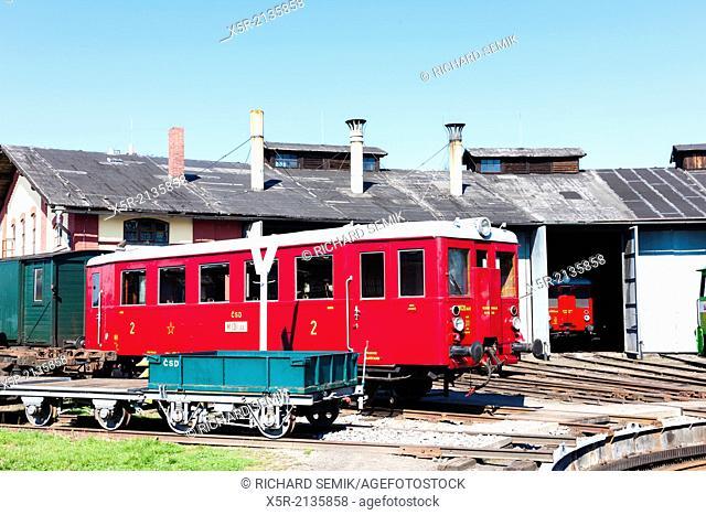 depot in Jaromer, Czech Republic